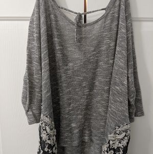 *Final Markdown**Gray and white light shirt